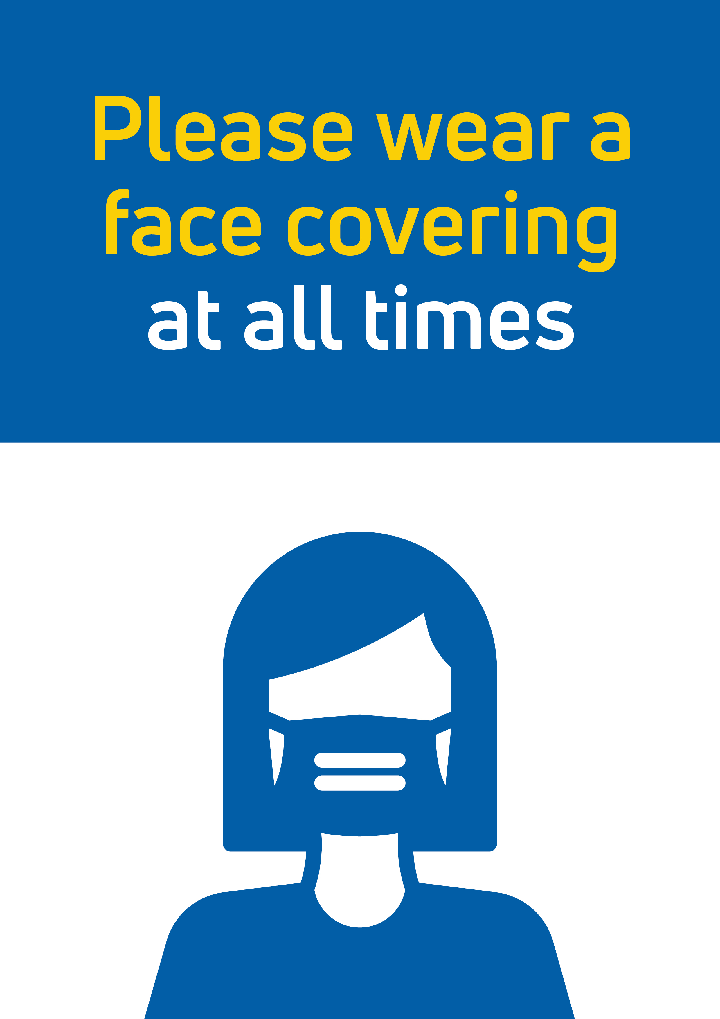Face Covering Poster